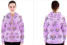 bluzy z wzorami autorskimi