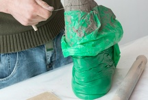 School Workshop - Ceramics / Influenced by some of the materials used within the collection, this workshop explores modelling with clay and slab building jointing techniques.   Contact the gallery if you'd like to book us:  jamesc@walsall.gov.uk 01922 654411 twitter: @learnatnag @zoenagwalsall