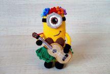 Minion mit Gitarre