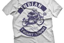 Vintage T Shirts from Mazzy Cranks / Boneyard & Inksville - Retro biker and classic music gear