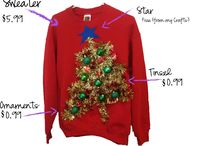 Ugly Christmas sweater / by Erica Wagner