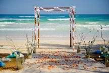 The Beach Tulum  Weddings / If you are dreaming of a Destination Wedding on white sandy beaches and the mesmerizing Caribbean Sea as an ideal backdrop, then welcome to The Beach Tulum! Tulum beaches are by far one of the most beautiful locations to get married and celebrate your union with friends and family.  #destinationweddings