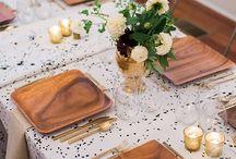 Arreglos mesa comedor