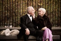 Elder couple wedding photography