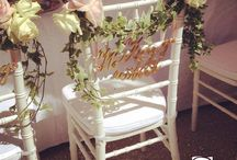 Chair Décor / Chairs decorations for weddings and other special occasions.
