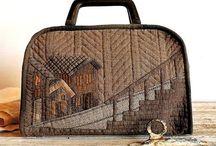 Sacs Patch Maisons-Quilt House Bag