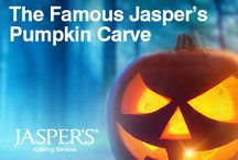 The Famous Jasper's Pumpkin Carve 2016 / The Famous Jasper's Pumpkin Carve 2016 celebrates the weird, wonderful and even weirder creations carved by our customers for this year's competition.