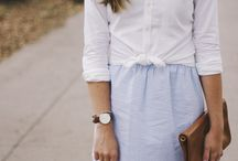 A preppy kind of look