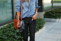Fashion - Denim shirt