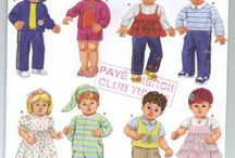 Free Copy of Pattern - Simplicity 3517 - 15 in doll