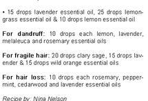 DoTerra shampoos & conditioners