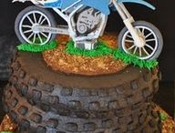 Motorcycle Cakes / Our second favourite thing after motorcycles... cake!