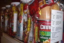 Hubby is a wanna be prepper! / by Amber Williams