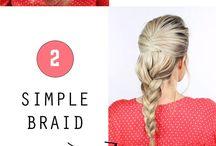 Simple Hair Hacks