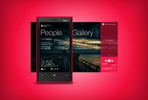 Windows Phone Interface / A place to look and share the sexiest WP interfaces.