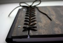 WOODEN BOOK COVERS