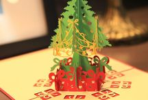 popup christmas cards