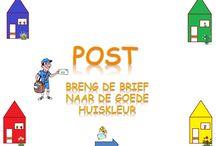 de post / post