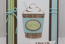 Cafe latte cards