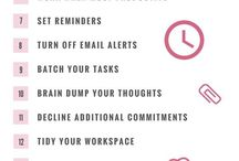 Time Management / Make it happen and Kick the blues