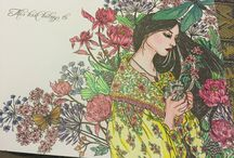 My colouring creations