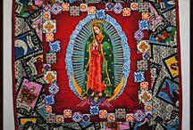 Crazy quilting Guadalupe