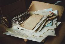Letters, notes, diaries, stuff like that