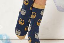 Wijze uiltjes / Over leuke bamboe sokken met grappige en wijze uiltjes