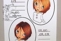 copic - Blending - Hair/Color / by Bobbie Sumpter