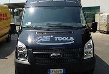 Furgone attrezzato Enerpac / CIE Tools