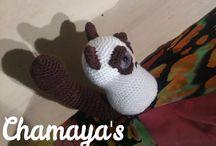 Chamaya's Amigurumi / Hier werden immer wieder tolle Amigurumis gezeigt, welche auch zum Kauf angeboten werden ;)  Schaut doch einmal vorbei, lohnen tut es sich !!   https://www.facebook.com/pages/Chamayas-Amigurumi/1464643127109649