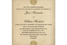 decorations and invitations