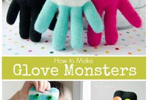 handschoen monsters