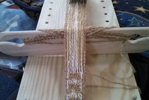 Tablet Weaving / Table weaving is a very old craft for weaving bands and belts using cards.