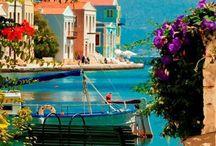 dream places greece