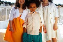 SS16 Evgenia, Niki & Odysseas / Kidswear /Photography: Chris Kontos /Models: Evgenia, Nikolas, Tonia