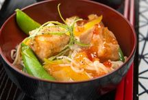 Japanese Recipes / Asian Inspirations introduces a world of authentic Japanese flavours that go far beyond sushi and sashimi. Discover tried-and-tested recipes for tempura, the secret to perfect soba, and tips on grilling yakitori like a pro, plus source the finest Japanese ingredients to use at home.