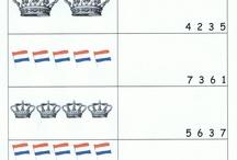 Thema: Koningsdag (kleuters) / Lesideeën voor het thema Koningsdag.