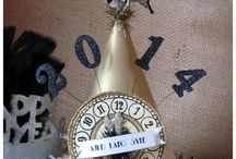 New Year's Eve / Anything related to New Year's Eve - decorations, kids' ideas, party hats, dresses, bubbly!