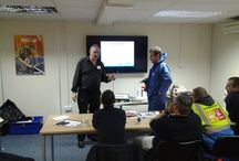 Training / All our Operatives and our Group Operations Director have recently renewed their Asbestos category A & B....