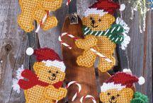Navidad tejida ángelmar