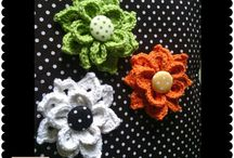 Crochet Brooch by Craftcobiee