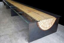 tafels / tafels uit diverse materialen. Beter goed gesloten dan slecht bedacht!