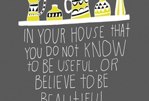 Inspirational design quotes  / by Jessica Donoghue