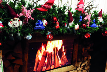 Christmas Mantels / Your fireplace mantel is a central spot in your house. Often used as a background for joyful family pictures, your mantel piece will make a huge difference if beautifully decorated. For more information, please visit http://www.festive.co.uk/
