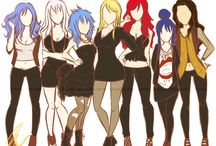 Girls of fairy tail