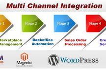 Multi Channal Integration / Ecommerce Multi chaneel integration by Ebusiness Guru.