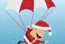 Christmas vectors / Free vector images with Christmas themes.