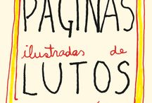 Lutos Diários - Daily mournings / Sketches created by Tâmisa Trommer about daily mourning.