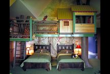 Kids rooms / by Rebecca McClure